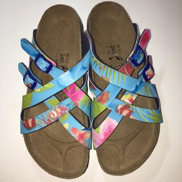 da6648969d5 Birkenstock Shoes - Floral Birkis by Birkenstock